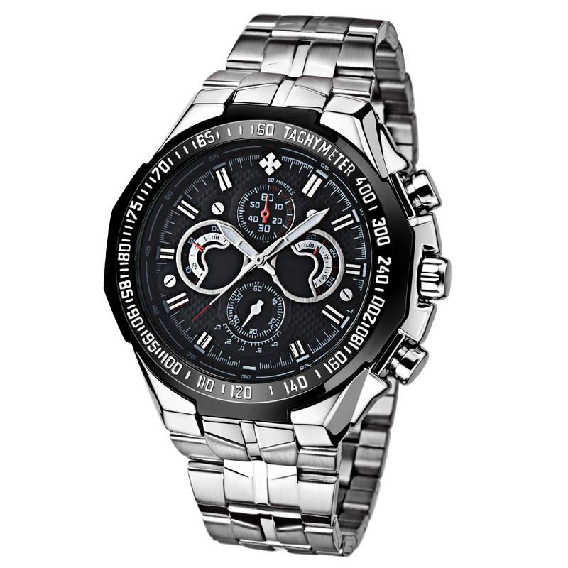 Fashion Watches New Style Men Luxury Brand Stainless Steel Classic Current men Digital Wrist Watch