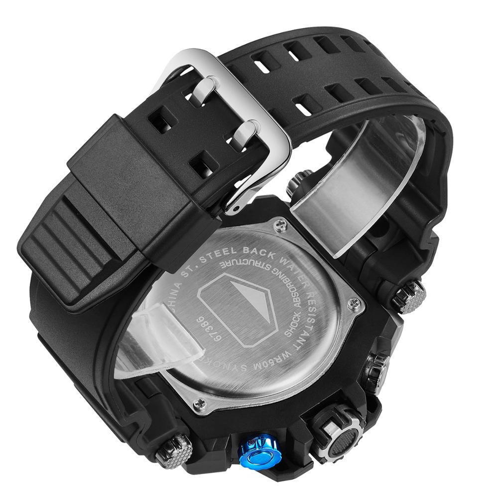 Wholesale High Quality Watches Dual Movement Style Digital Quartz Multifunction Sports Watches