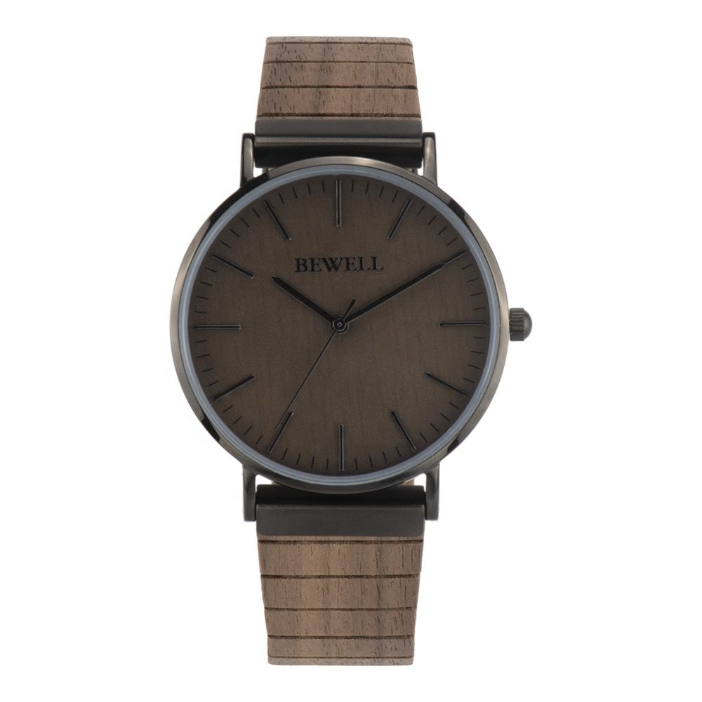 2019 Customized Marble Face Watches Wholesale Automatic Wooden Stone Watches