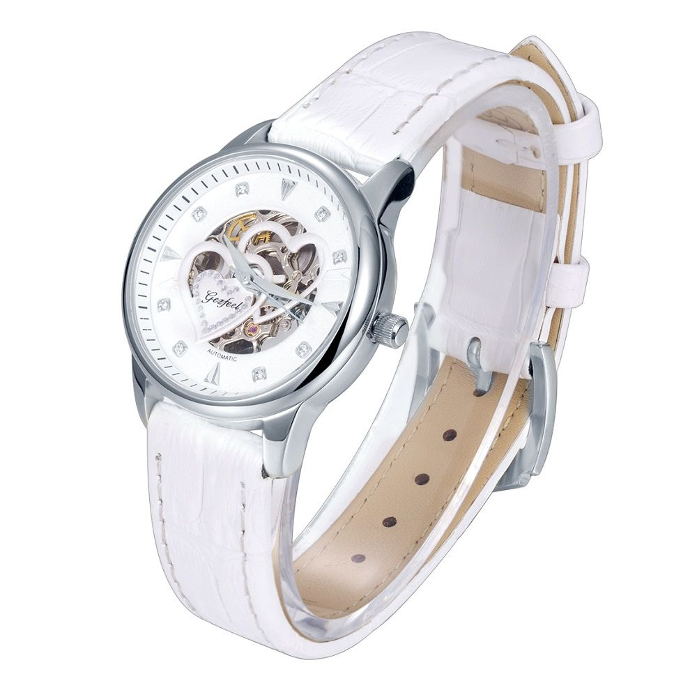 Gezfeel women's luxury watches with seagull automatic mechanical movement