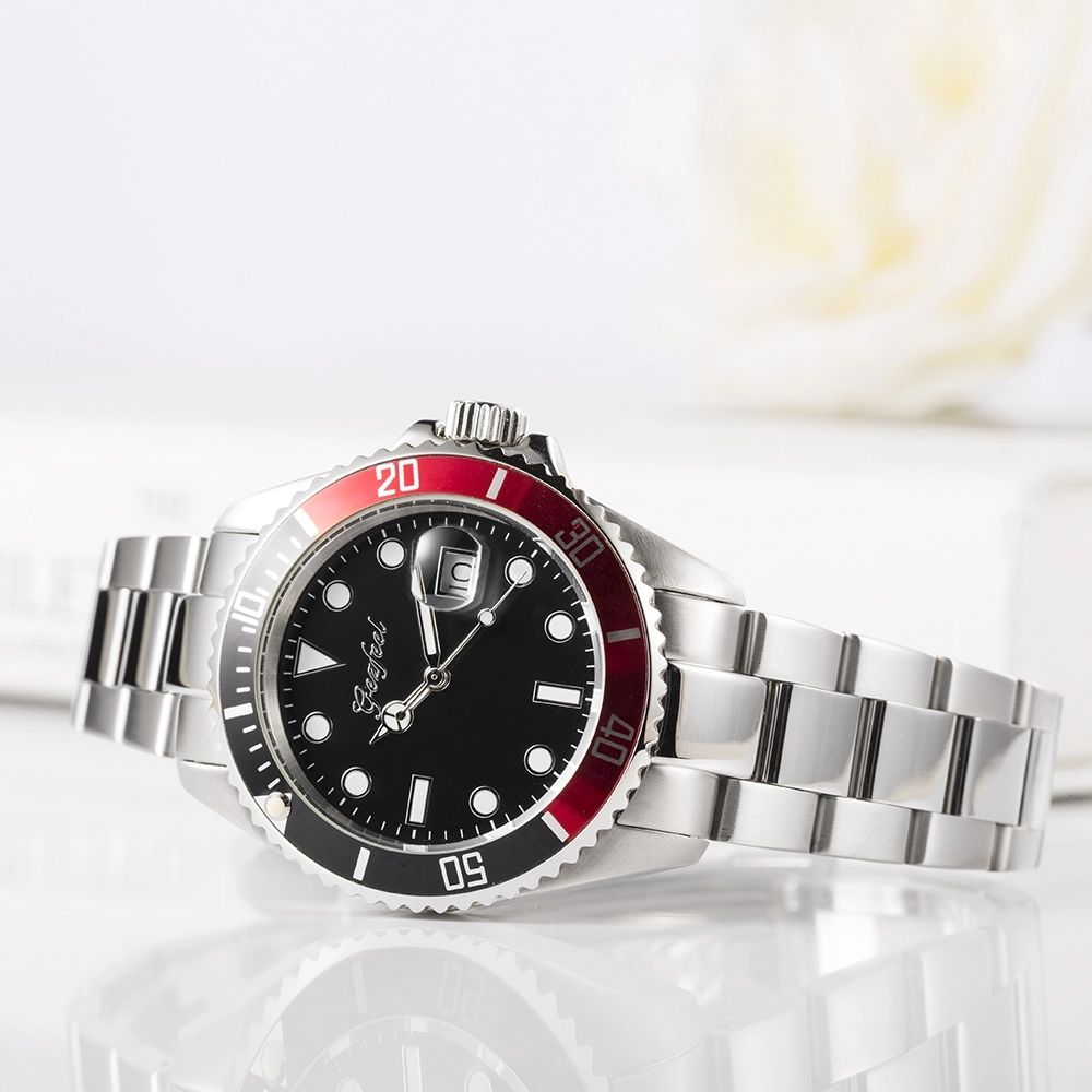 New Design Luxury Stainless Steel Watch Aluminium Dial Automatic Men Watches