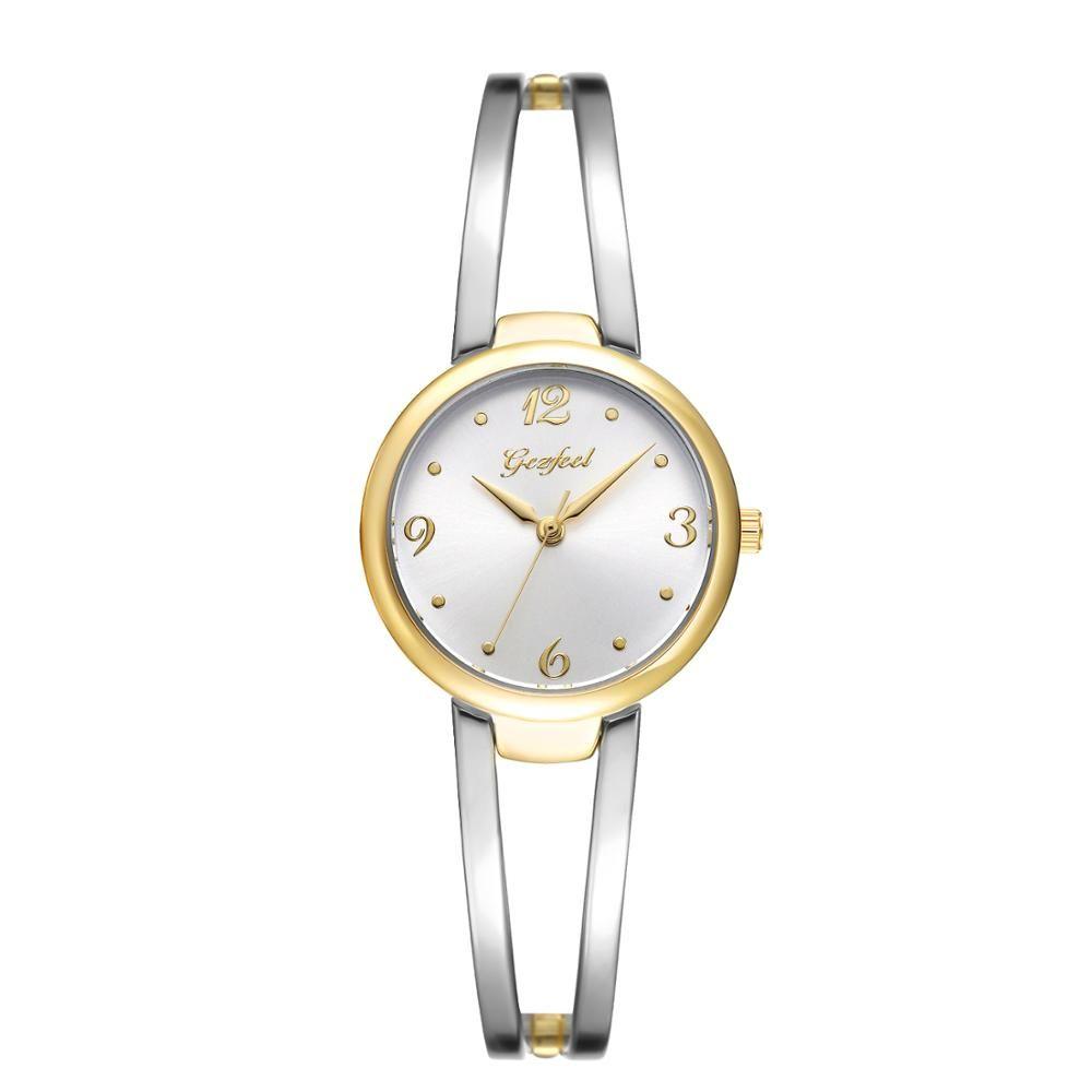 Custom Brand Stainless Steel Watch Japan Movement Water Resistant Lover Watch.