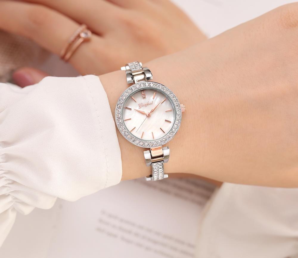 New Modle Luxury Ladies Bracelet Watch Japan Movt Water Resistant Wrist Watch
