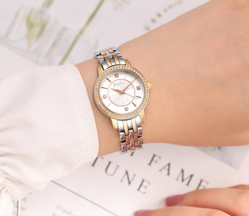 OEM Fashion Ladies Dress Watch Japan Movt Water Resistant Female Wristwatch