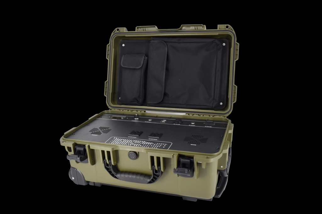 2000W portable solar generator camping backup power emergency off grid solar system