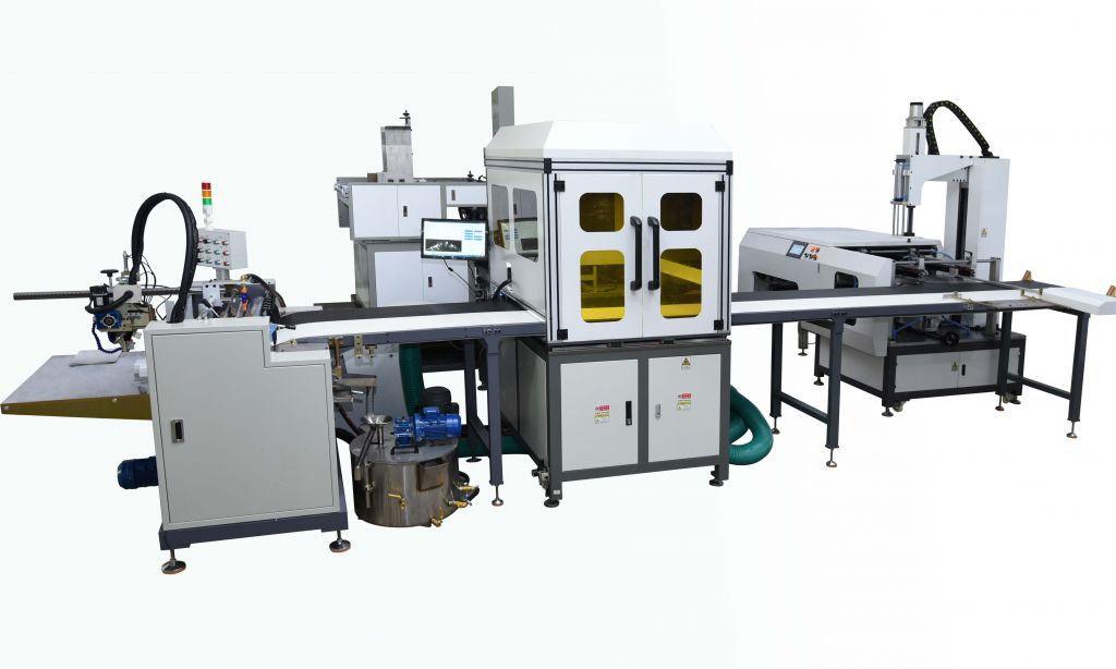 full-automatic tray box making line