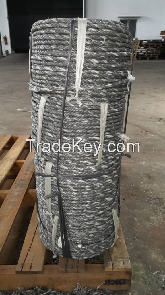 Reprocessed PP Twisted Rope