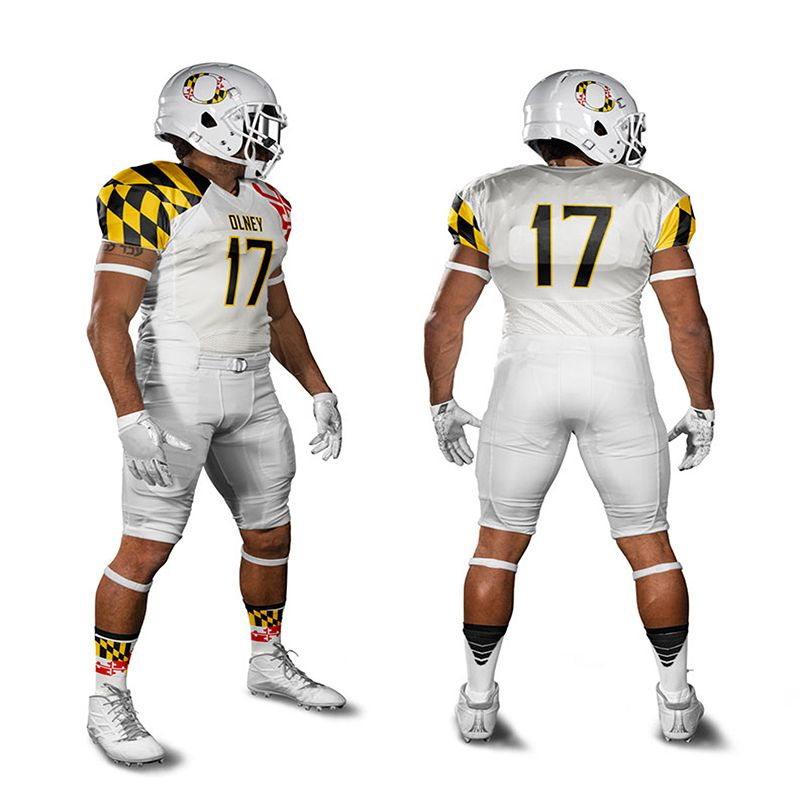Wholesale custom your own design American football jersey set