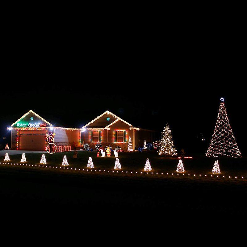 Christmas Decorations Programmable RGB LED Light Show