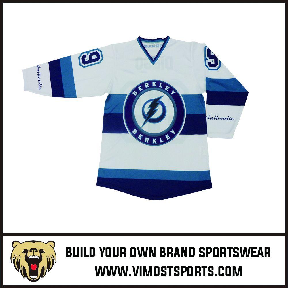 2019 custom sublimation ice hockey jersey