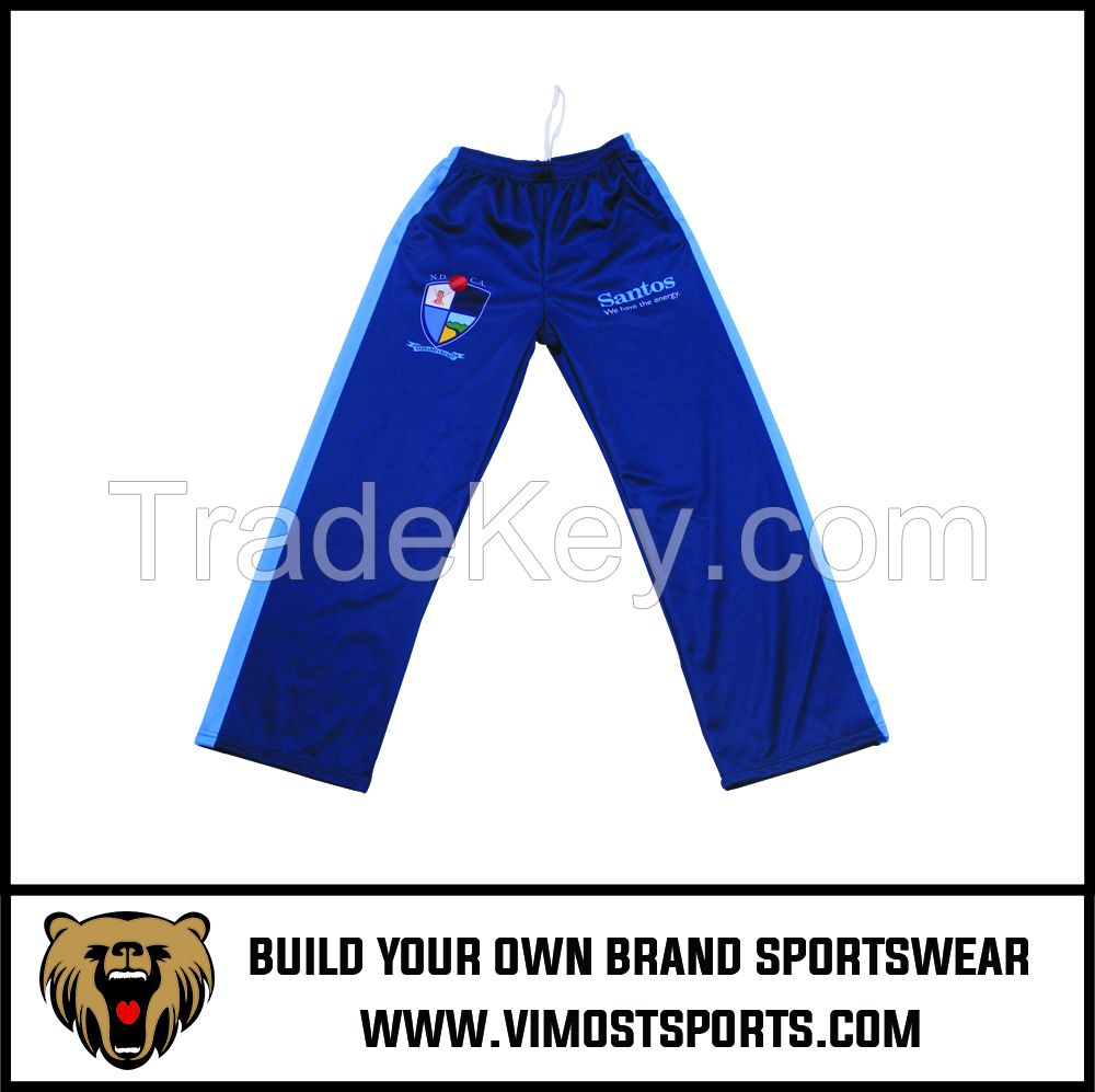 OEM 100% Polyester  Custom Sublimation Jacket Pants