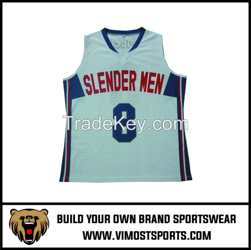 OEM 100% polyester Custom Sublimation Basketball Jersey