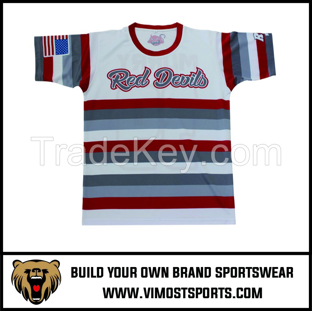OEM 100% Polyester  Custom Sublimation Soccer jersey