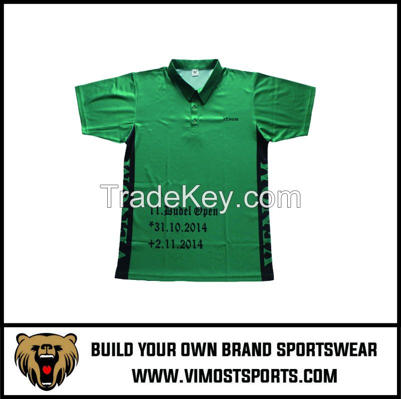 Printing Customized Logo Breathable Polo