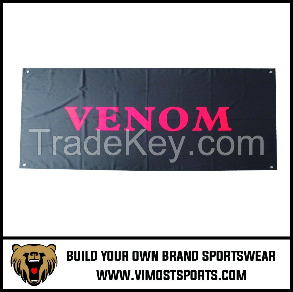Custom Printed Polyester Flag Square Banners OEM