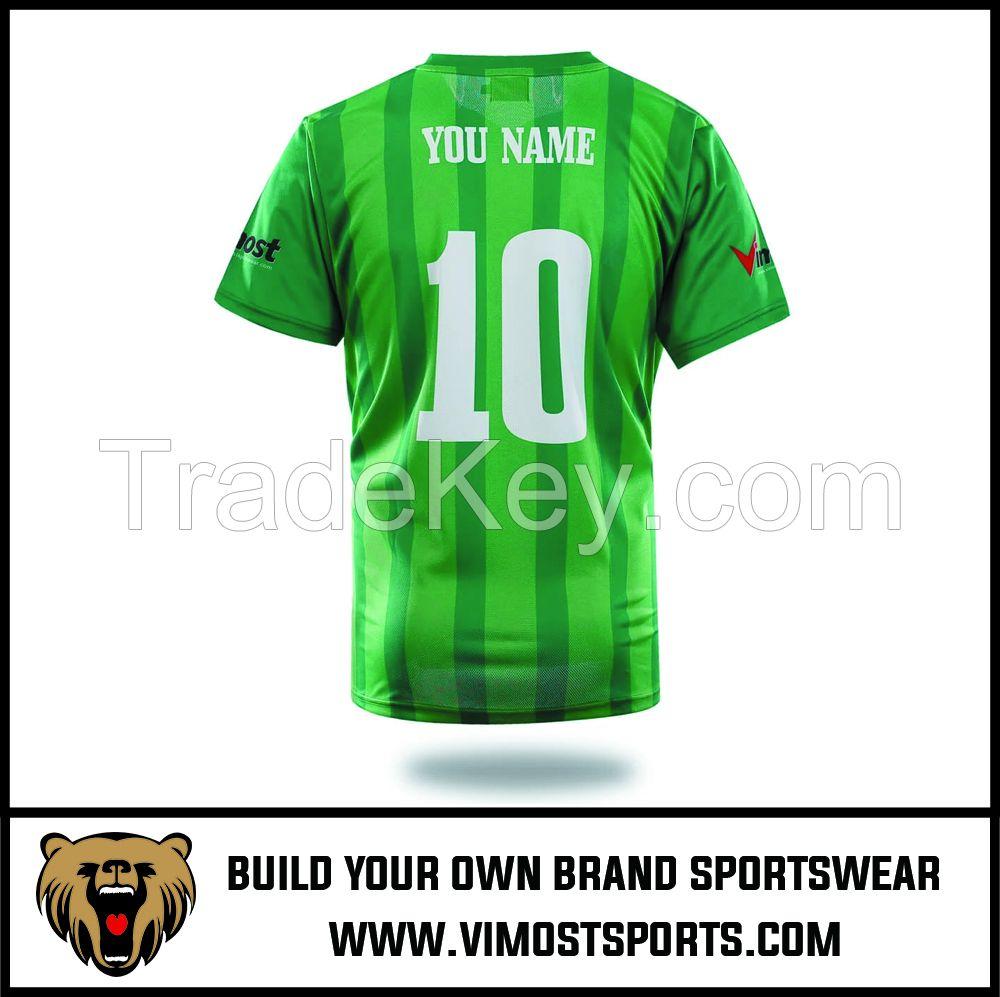Custom Team LOGO Sublimation Men Soccer Football Jersey