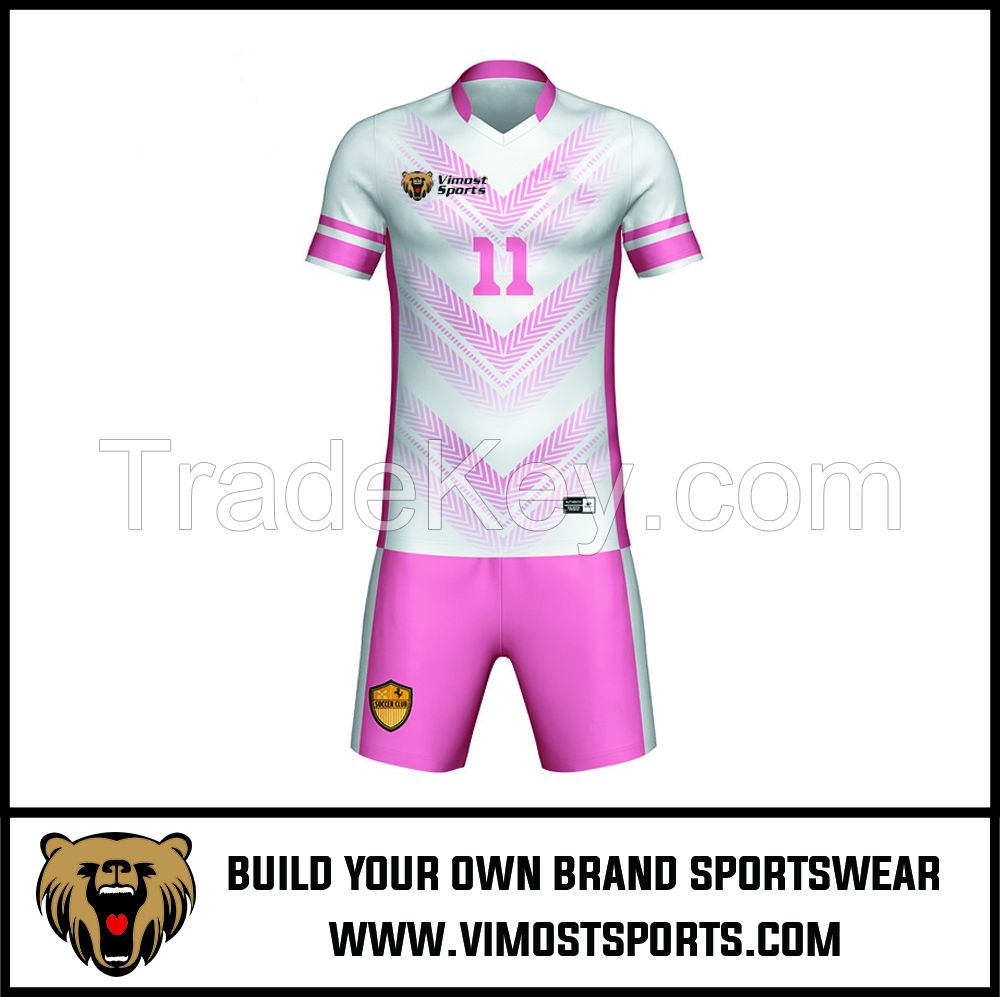 Custom Team LOGO Sublimation Women Soccer Football Suit