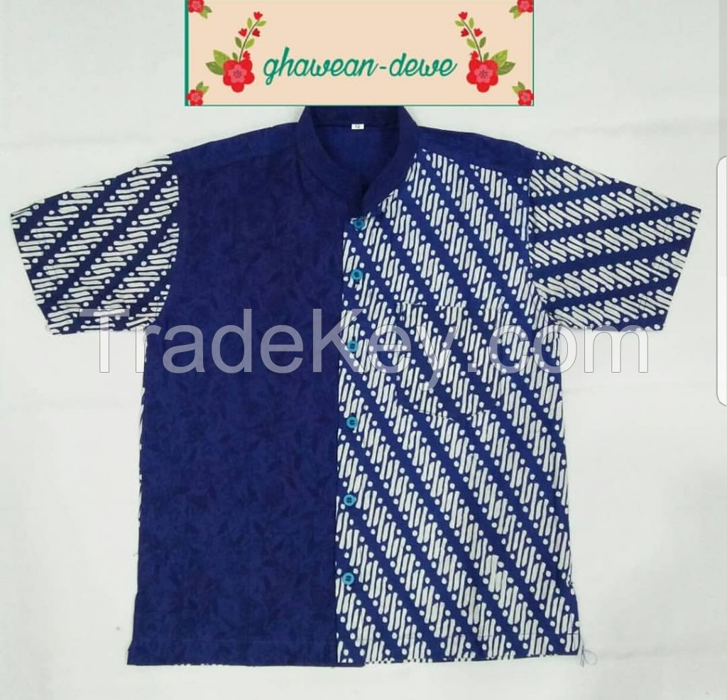 Batik Boys Shirt, children shirt, boys dress shirt, traditional boys shirt