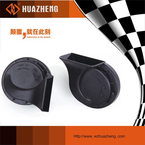 Automotive snail horn