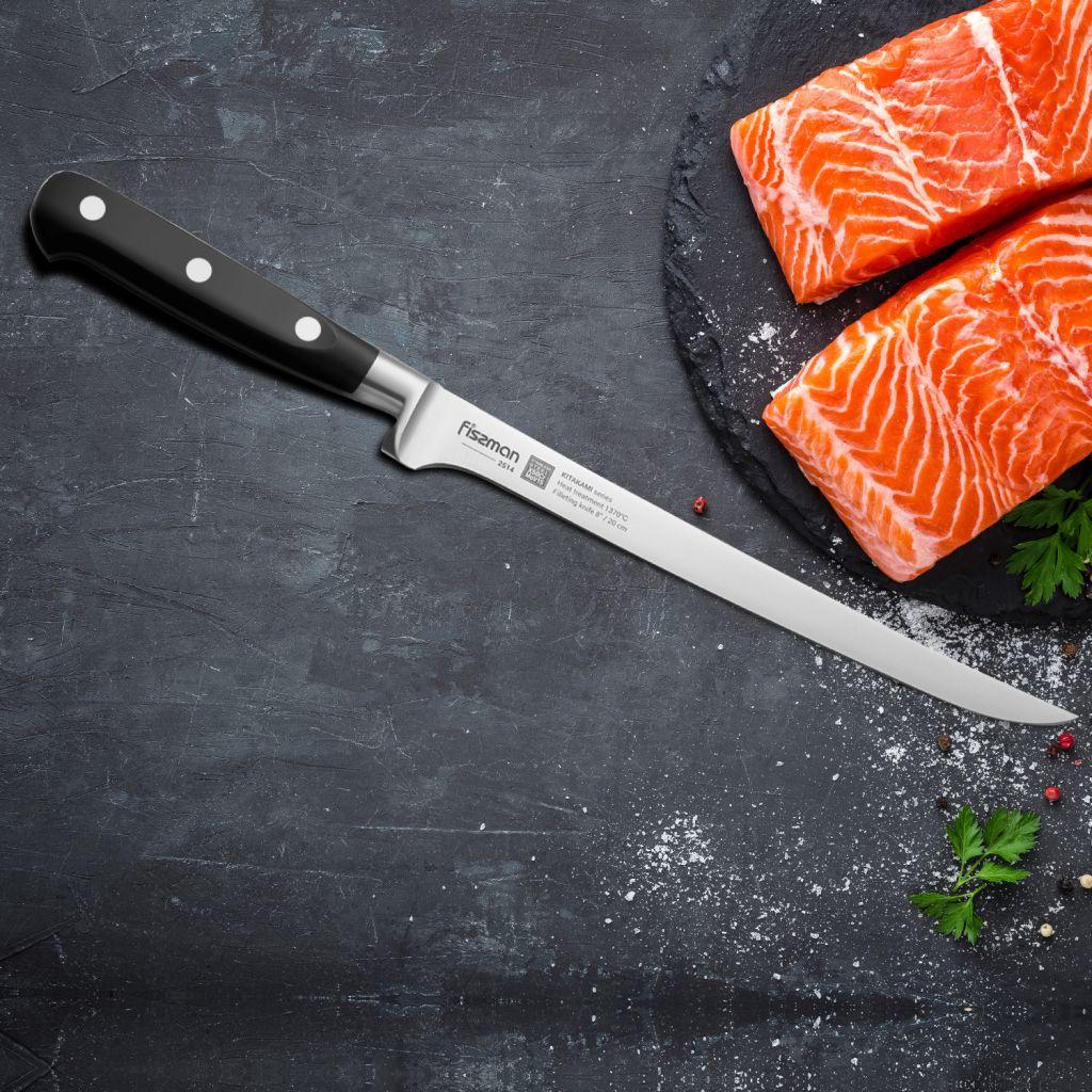 FISSMAN 8inch Filleting knife KITAKAMI German High-performance Steel Fish Deboning Knife