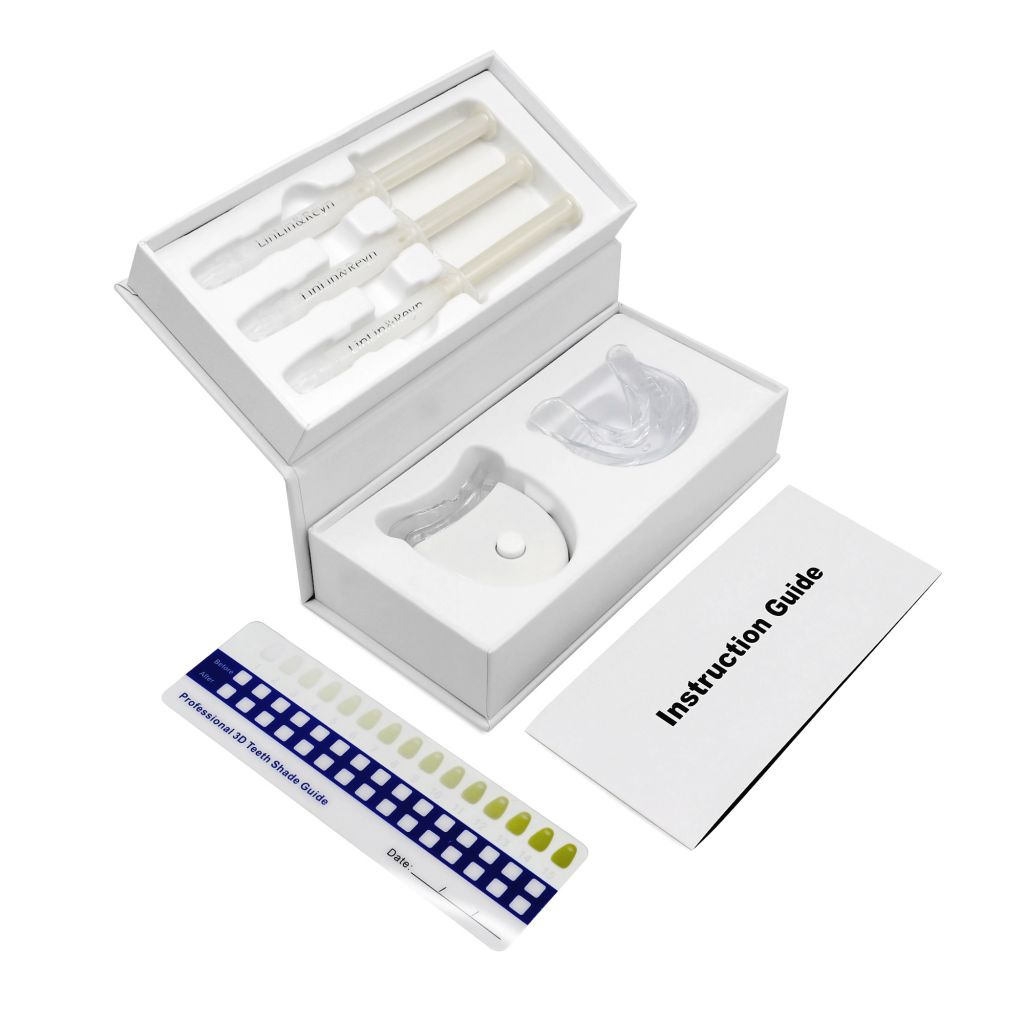 Luma Smile Non peroxide Teeth Whitening Gel Syringe Teeth Refill Gel Kit With Private Logo