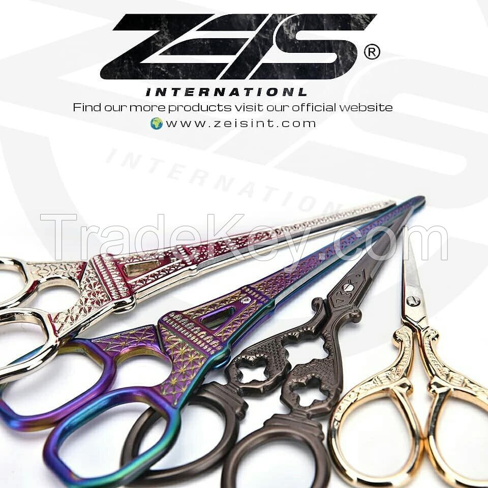 Custom Made Vintage Embroidery Scissors Sewing Craft Tool
