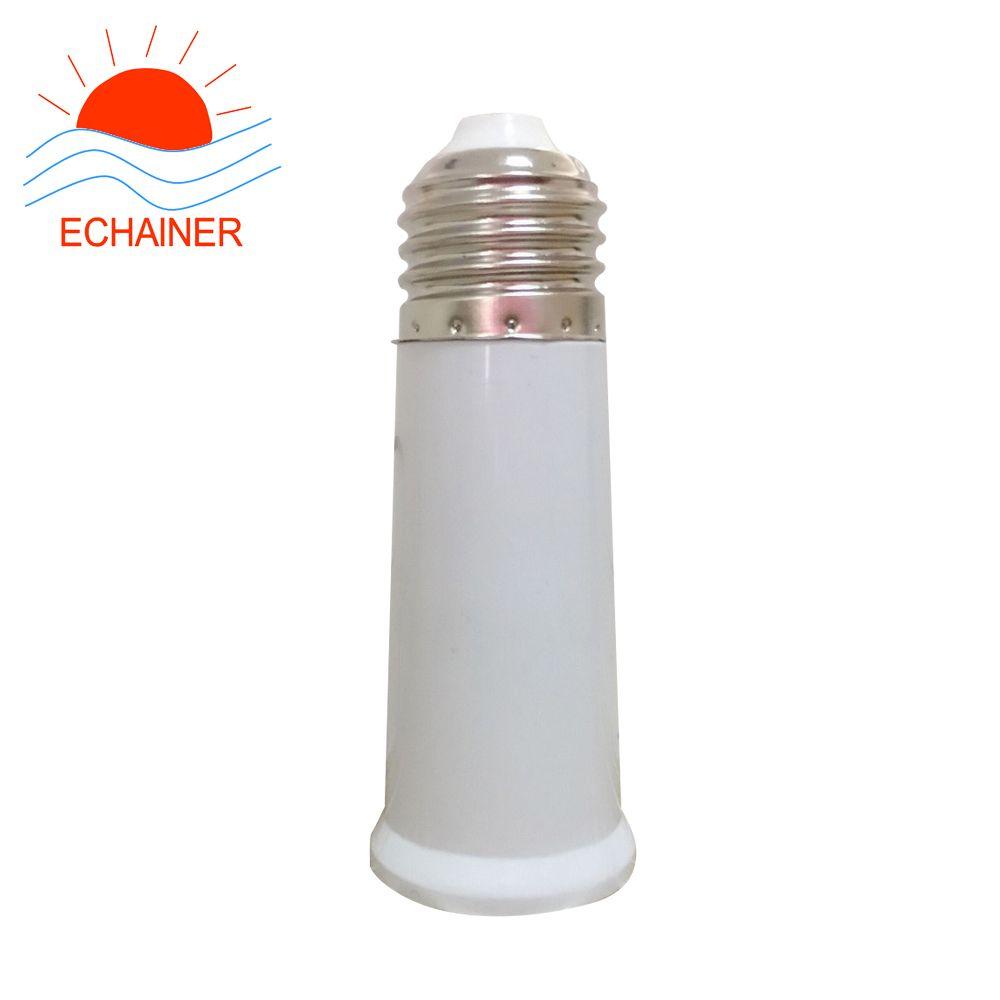 lamp holder E27 to E27 extension base 95mm high quality e27 bulb holder white color lamp socket