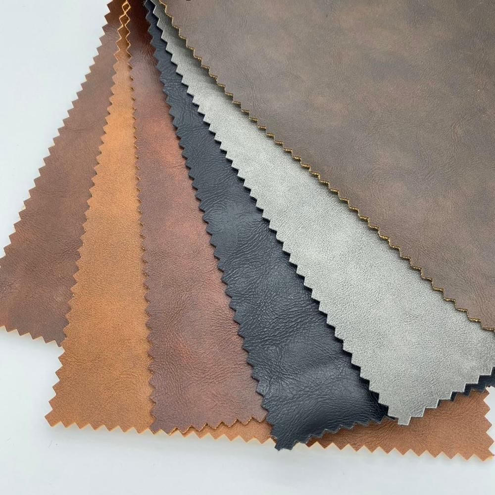 2020 1mm semi pu artificial leather for sofa and chair