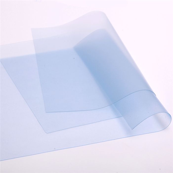 Clear Flexible Thin Packaging PVC Film