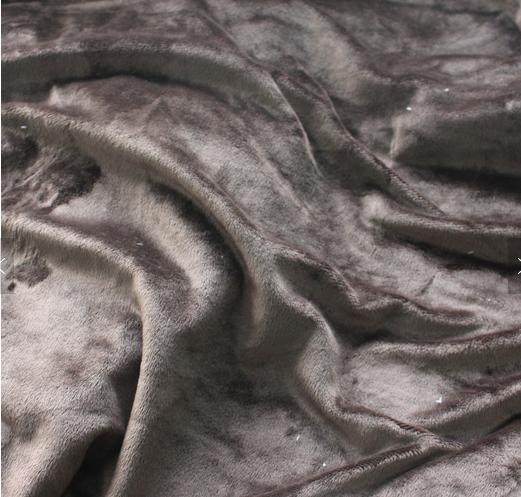 2020 New Design High Quality 100% Polyester Crystal  velvet Jacquard Fabric for Mattress , Toys
