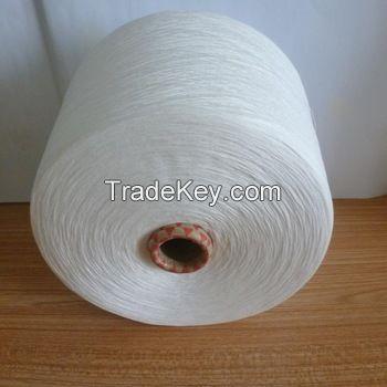 Polyester 65% cotton 35% yarn TC Yarn Ne 20/1 Ring Spun Raw White for knitting
