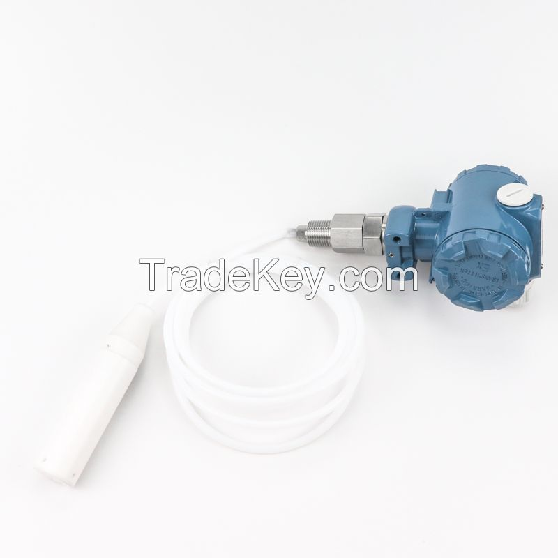 WasteWater Liquid Level Transmitter Anticorrosive Tank Chemicals Level Indicator Sensor