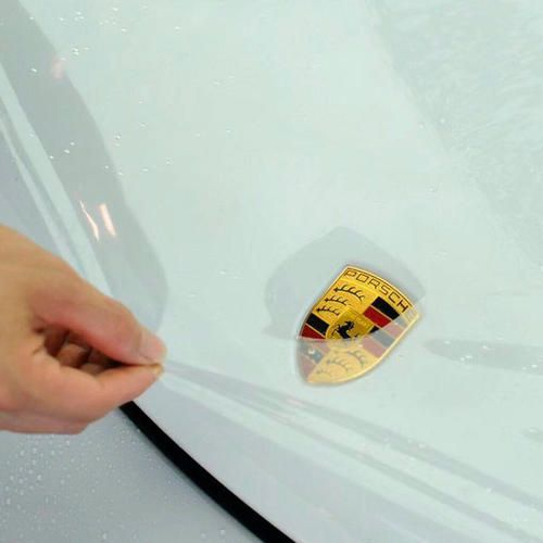 Car painting protective film