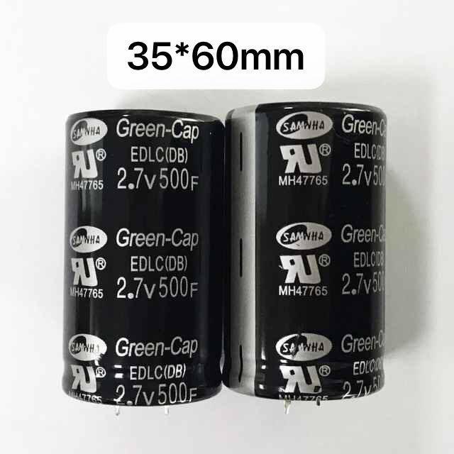 super capacitors 500F 2.7v 35x60mm black, wechat; +86 1314 8888 602