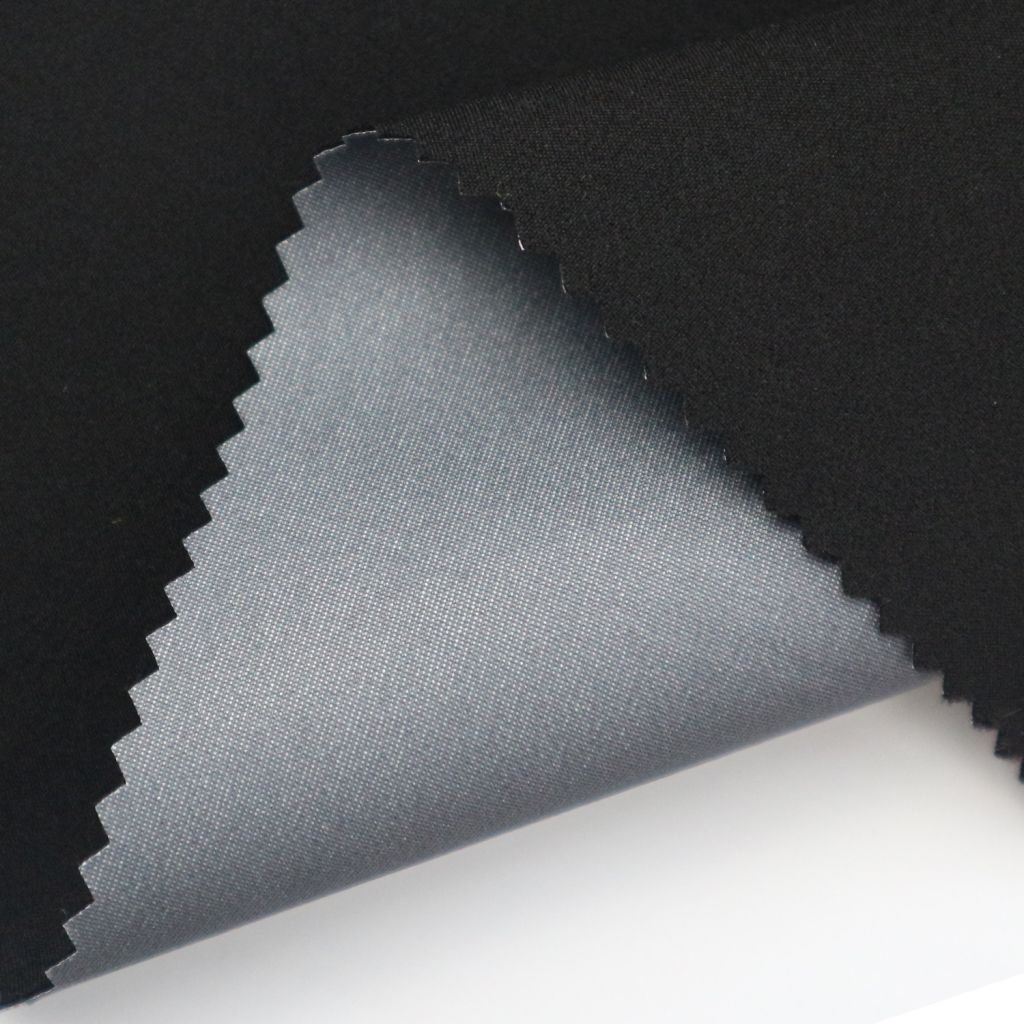 High-end outdoor fabric for jackets 4 way stretch 3layers jersey nylon lamination fabric.