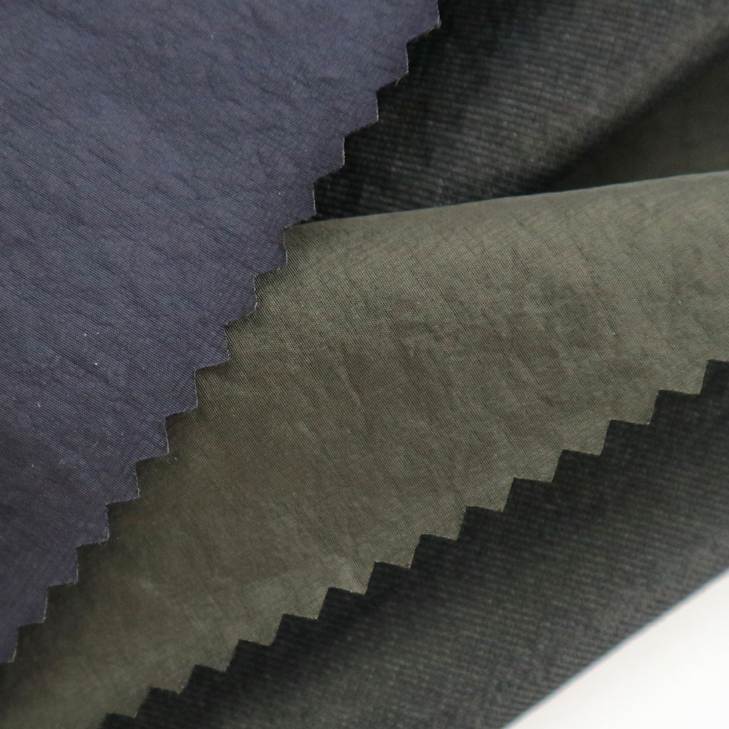 2019 newest 3 layers tricot crinkle fabric for jacket