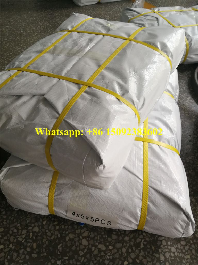 Blue and White HDPE/LDPE/PE Tarpaulin Plastic Sheets