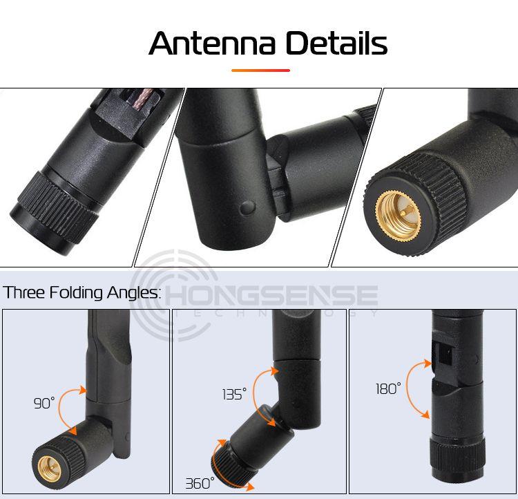 High gain 7dbi 2.4G 4G wifi signal antenna