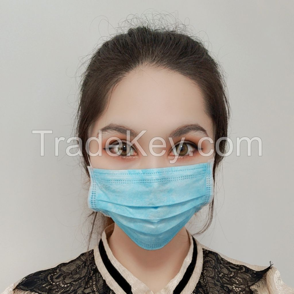 USA factory earloop elastic free shipping mask cotton surgical astm level 3 facemask