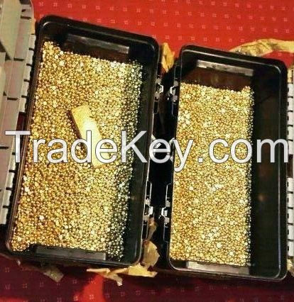 GOLD BAR, GOLD DUST, GOLD NUGGETS AND DIAMONDS