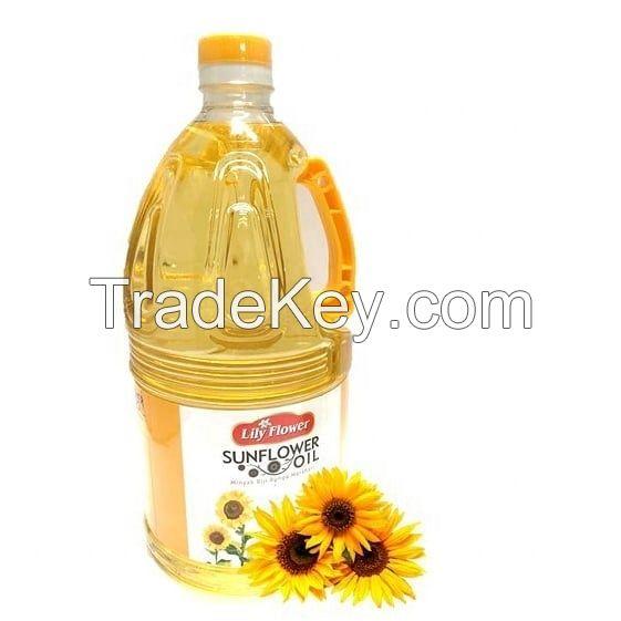 Pure Refined Sunflower Oil/ Vegetable Oil/ 100% Crude Sunflower Oil