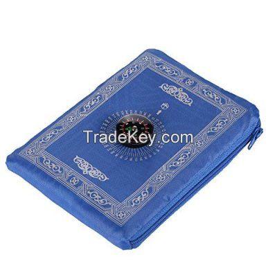 Comfortable non- slip cheap price high quality travel muslim prayer mat for sale