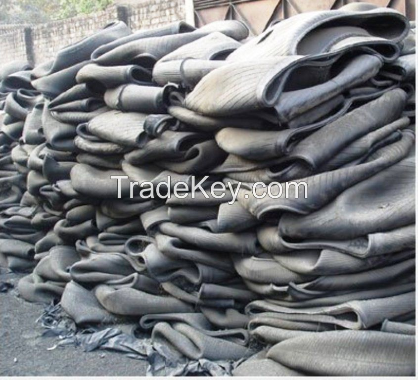 Quality Natural Butyl inner tube scrap, butyl tubes Scrap Tyre /Tire Reclaimed Rubber for sale