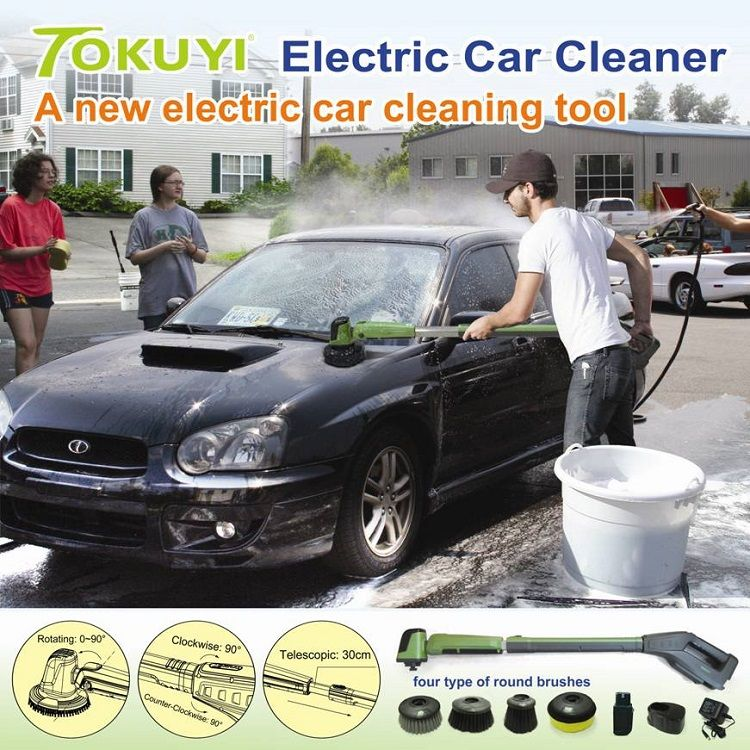 Electric Car Floor Cleaner