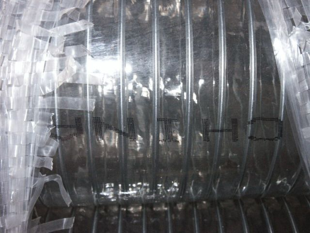 PVC SPRING WATER HOSE, CLEAR (  with STEEL WIRE HELIX INSIDE )
