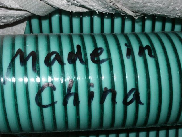PVC WATER SUCTION HOSE, semi-transparent, with RIGID PLASTIC HELIX