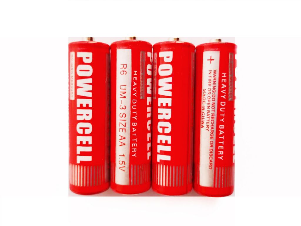 AA size R6 dry battery cell popular with africa