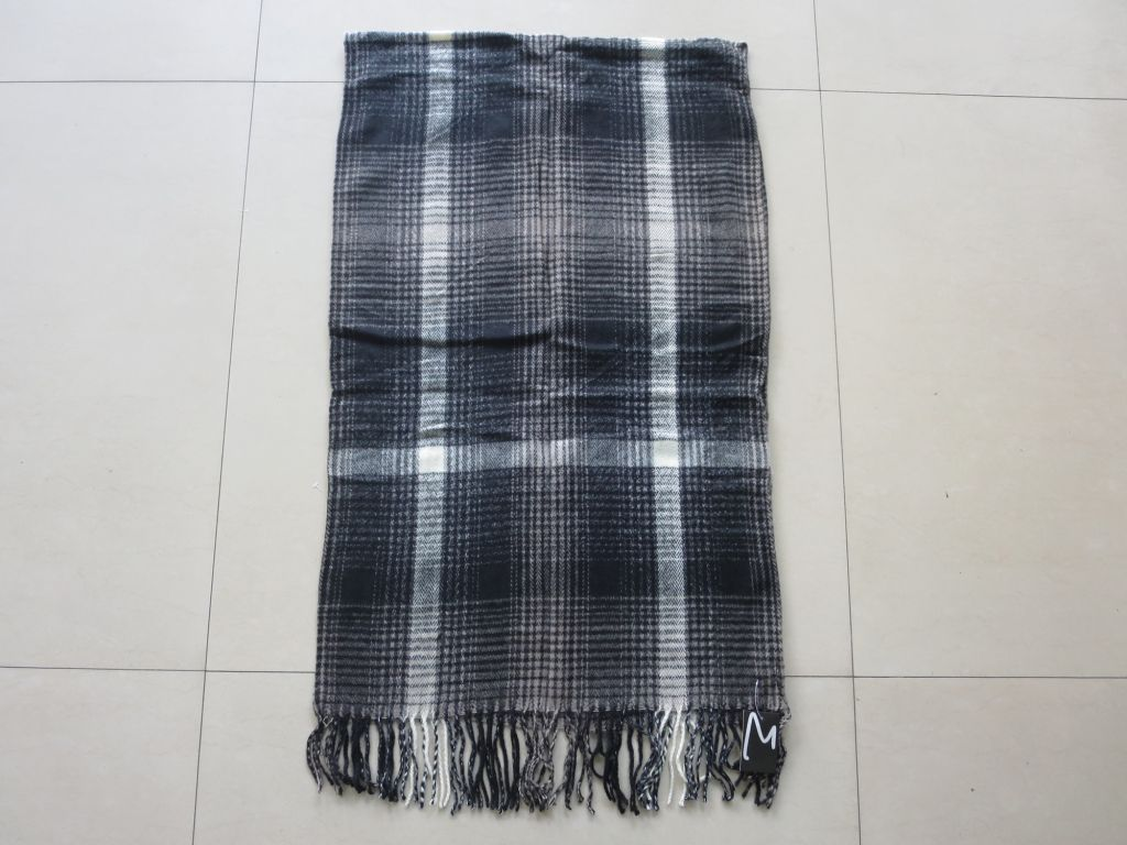 Winter style warm woven scarf
