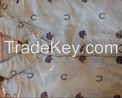 Branded garments kidswear