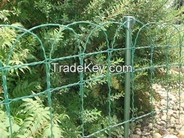 PVC Coated Garden Border Fence